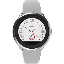 MyKronoz smartwatch ZeRound - zilver wit