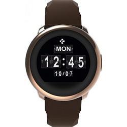 MyKronoz smartwatch ZeRound - roze bruin